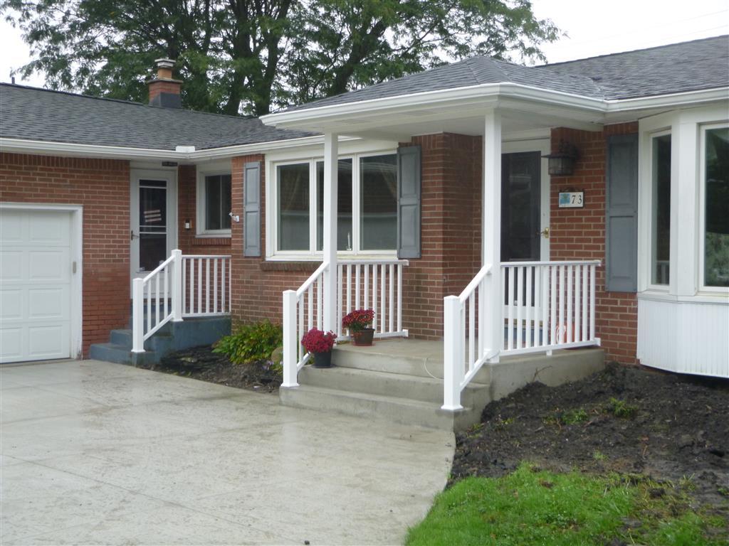 vinyl porch stairs builders