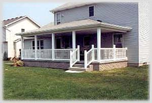 Completed Porch
